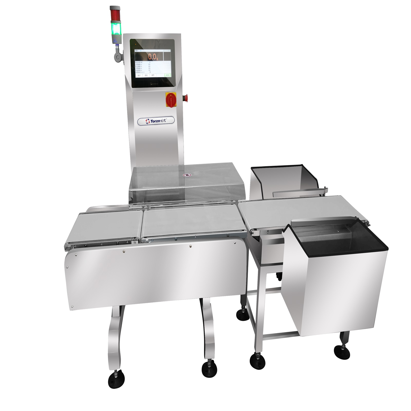 inline check weighing systems