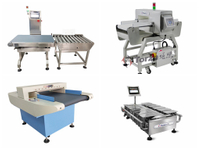 Briefly describe the structural characteristics of food weighing machines
